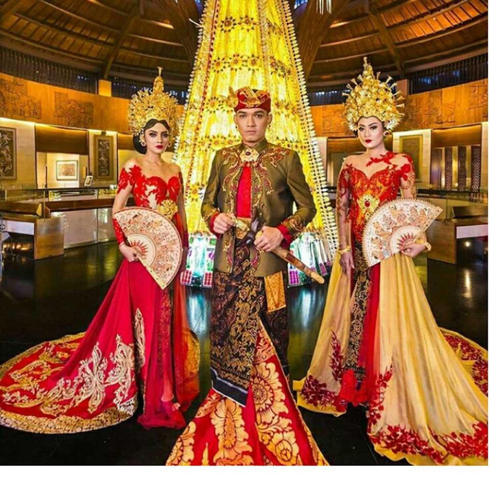 Baju Kahwin Songket Maroon
