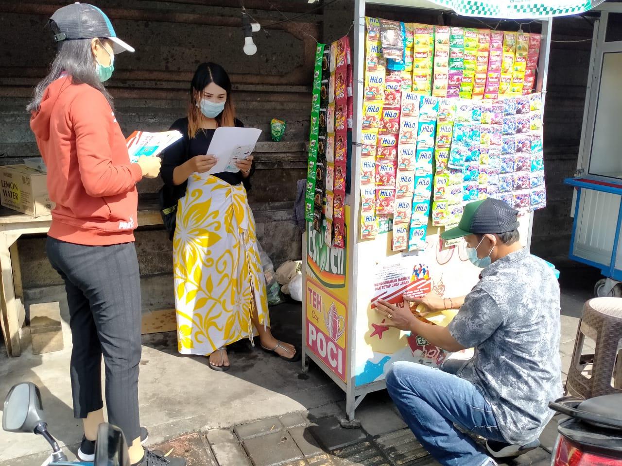 Prokes Pelaku Usaha di Denpasar Terus Dipantau   Bisnis Bali